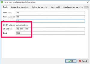 IP address authorization