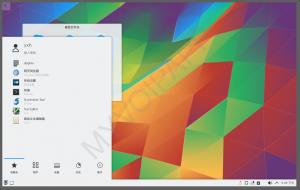 kubuntu15.10桌面