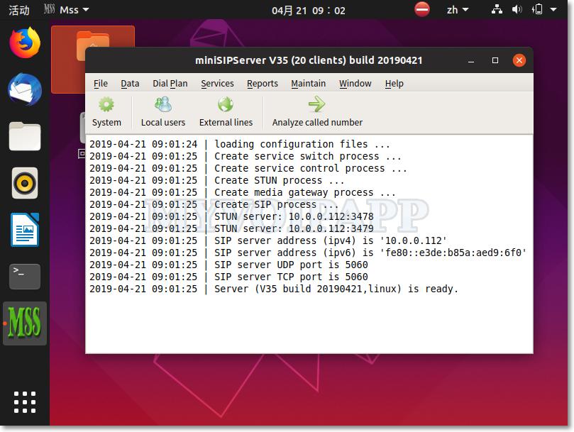 Ubuntu 19.04 界面截图