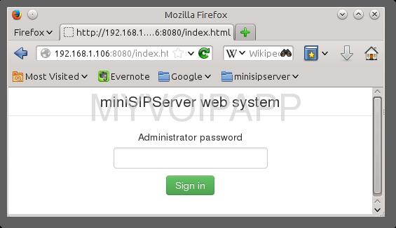 SIP-PBX for Raspberry Pi document